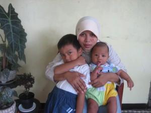 Fauzan, Ibu dan Radi